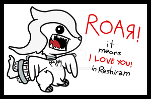It Means In Reshiram by RexiDoodle