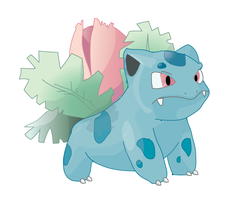 Ivysaur Illustrator