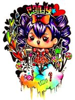 Candyheartz: Free Chibi Comish by rianbowart