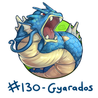 130 - Gyarados by oddsocket