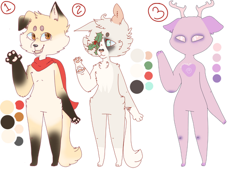 Assorted Adoptables (CLOSED) by pyqmy