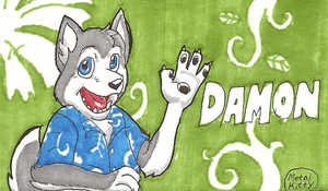 Damon Conbadge by Metal-Kitty
