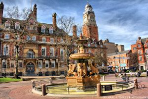 Town Hall Square In Leicester by MichaelJTopley