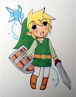 Phantom Hourglass Link by Anigirl5