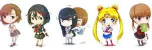 Chibis by Chizzachan