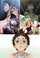 Deadman Wonderland - Team of Death by RIKYDOSANIN