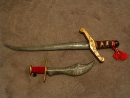 Sword and dagger by gerodere