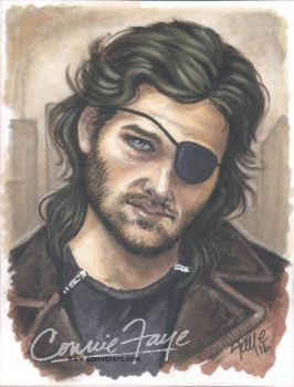 SnakePlissken KurtRussell by ConnieFaye by ConnieFaye