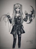 Amane Misa from Death Note by Louie199x
