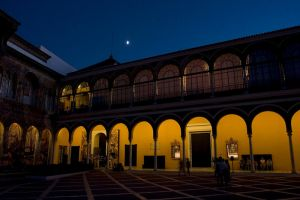 The Real Alcazar at Night by Choogster