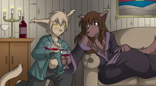 Avwolf Commission by Twokinds