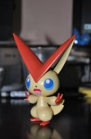 Victini Plastic Model by tesumii