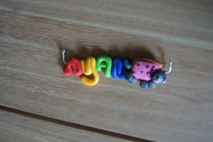 Nyan cat charm by Jaguraawr
