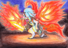 Blaze of Life by DaisyDeddle