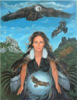 Flight of Condor Woman by sami-edelstein