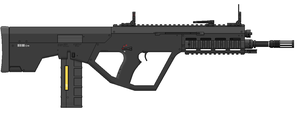 AR10 6.7mm MWS Service Rifle - Ironsights by SixthCircle