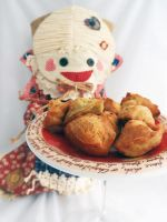 Madeleine salted with thyme and chilli by kivrin82