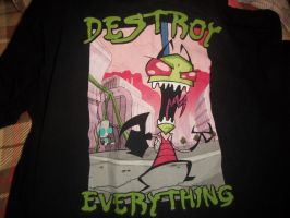 Invader Zim Shirt by Sand-dragon1