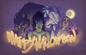 HAPPY HALLOWEEN by Fedini