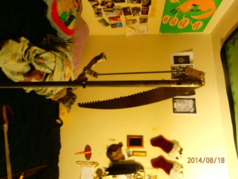 lever action scythe by sharp4114