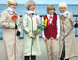 APH Cosplay-Latvia and his 3 masters by nursal1060