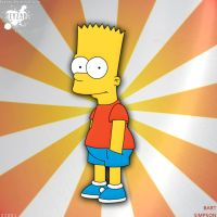 #003 - Bart Simpson - drawing by keyzar