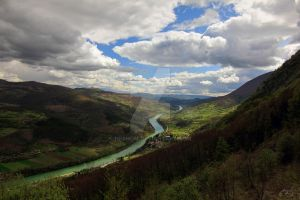 Drina the green river by Neshom