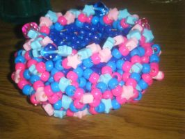 kandi:63 cuff for serenaH by leggsXisXawsome