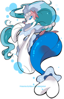 Pokemon Sun Moon - Primarina by Miss-TaDa