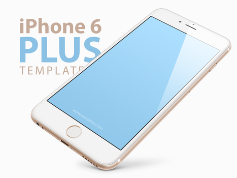 Free iPhone 6 PLUS, 5.5-inch Templates [PSD] by Ramotion