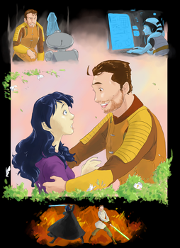 Carth and Revan - Reunion by surfersquid