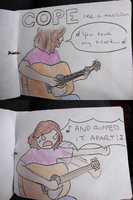 Cope like a musician. by SashaWren