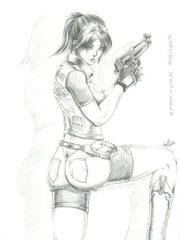 Claire Redfield by Ferenand