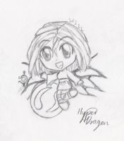 W.i.t.c.h Chibis - Will by Hyper-dragon