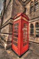 HDR phone booth by panRobus