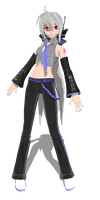 DT 2nd Yomane Haku by MMD-francis-co