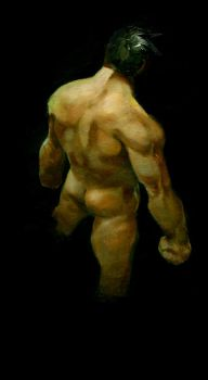 figure study in oil by Alex0wens