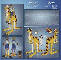 Reference: Jaymond and Roxie by ScurvySimon