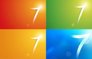Newest Win7logo wall allcolor by PeterRollar