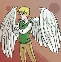 Winged Arthur by jackzarts