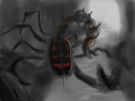 Speed Painting 037 Giant Scorpion by ParjanyaVictor