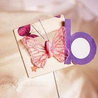 B Is For Butterfly by LoverDgirlA1065