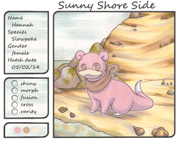 Hannah the Slowpoke by Yakalentos
