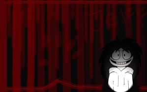 Jeff the Killer Desktop Wallpaper by InkKirby