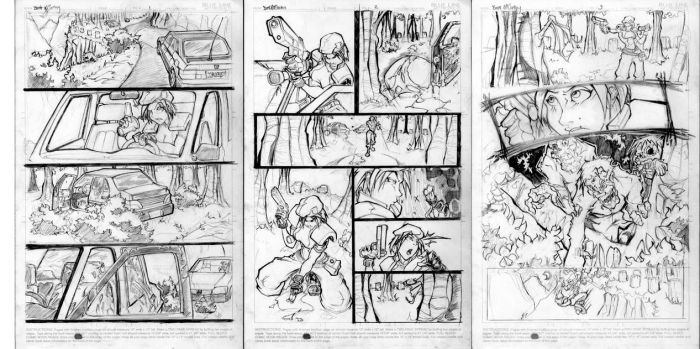 3page Jill-Zombie Homework by cereal199
