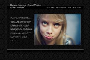 Portfolio photographer web design by michaelblackpl