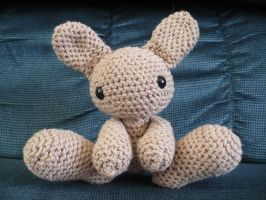 Brown Bun-Bun amigurumi by craftybird