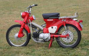 1969 Honda Trail 90 by finhead4ever