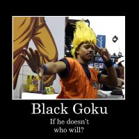 Black Goku by Video320