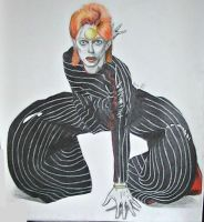 David Bowie by LaceyAndTheLevee
